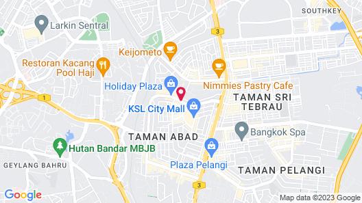 Capital O 90130 Sawadee Hotel Map