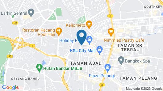 Mutiara Johor Bahru Map