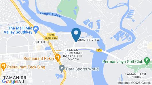 Bayu Marina Resort Map