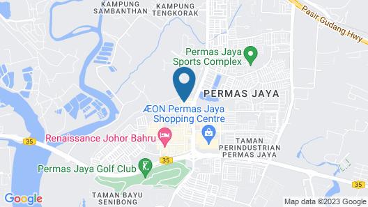 I am Jazz Boutique Hotel Map