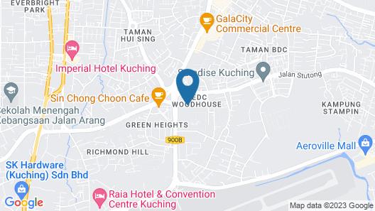 Century Kuching Hotel Map