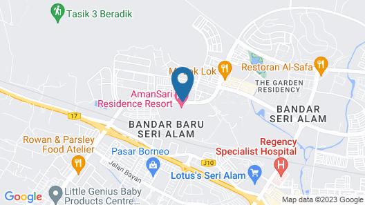 Amansari Residence Resort Map
