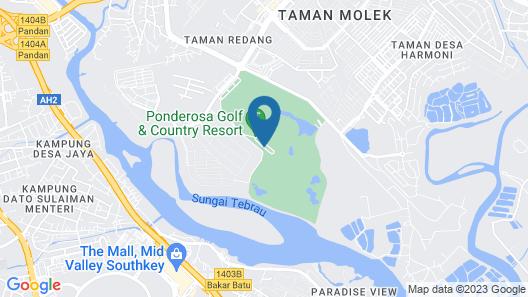 Ponderosa Golf & Country Resort Map
