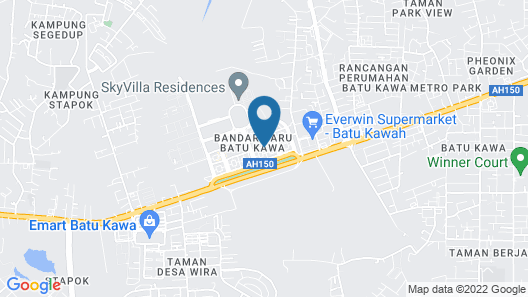 OYO 90117 Grand Inn  Map