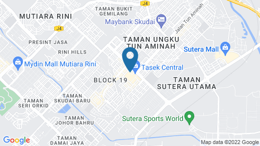 The Square Hotel Map