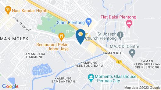 Hotel Alam Indigo Map