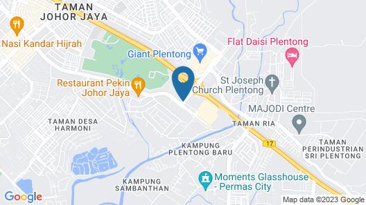 Silka Johor Bahru Map