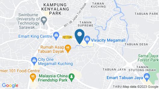 Vivacity Jazz Suites Map