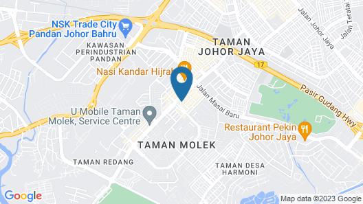 Grand Hallmark Hotel (Johor Bahru) Map