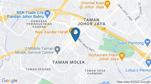 Hotel 193 Map