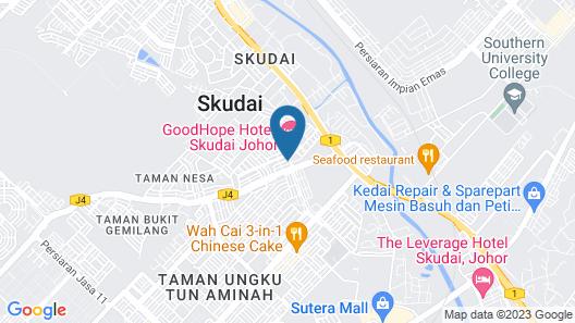 HAKO XPRESS SKUDAI BARU Map