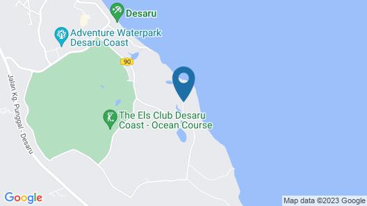 One&Only Desaru Coast Map