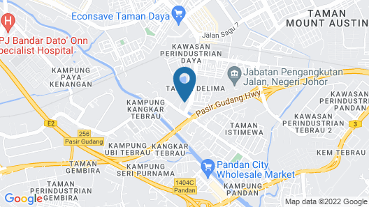 Residences at Daya by SR Home Map