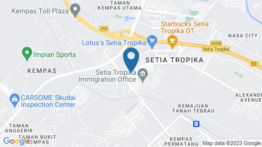 OYO 494 EG Hotel Map