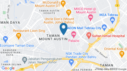The Ardens Hotel - Austin Map