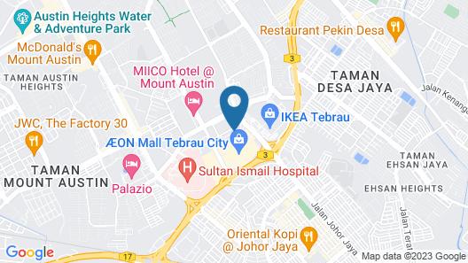Homestay @ AEON Desa Tebrau Map