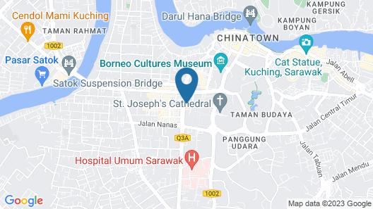 OYO 991 Mayfair Hotel Map