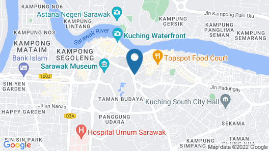 B&B Inn - Hostel Map