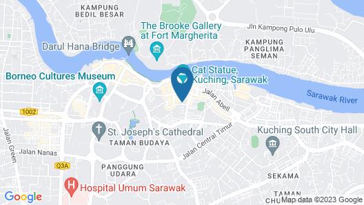 Ariva Gateway Kuching Serviced Residences Map