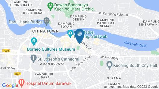 Meritin Hotel Map