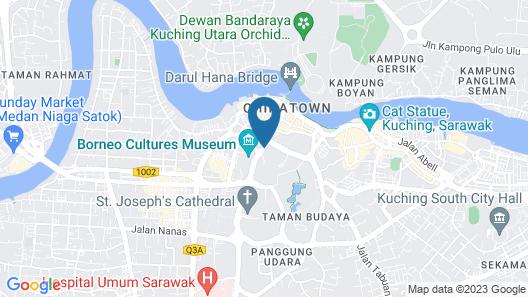 Merdeka Palace Hotels & Suites Map