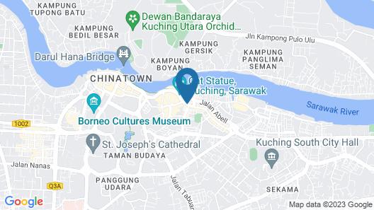 Batik Boutique Hotel Map