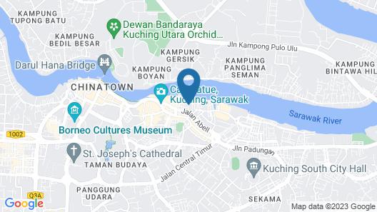 Nova Kuching Hotel Map