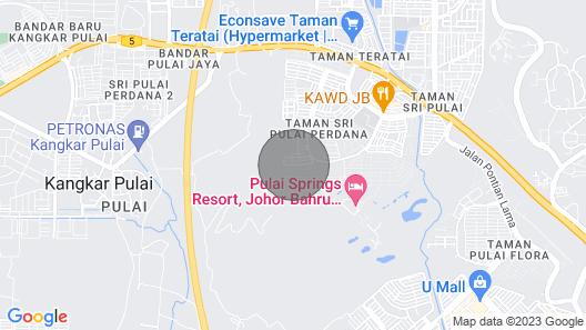 Ezstay Homestay in Johor Skudai Map