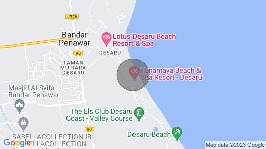 Desaru Luxury Homestay-near Water Park/beach/rapid Map