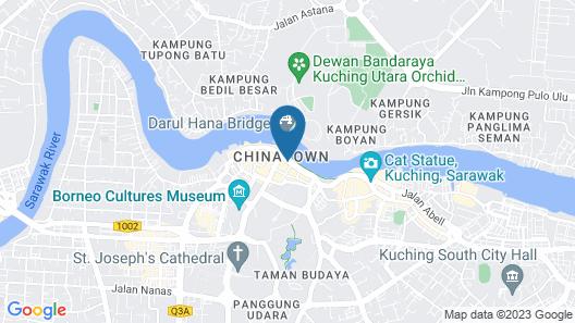 The Ranee Boutique Suites Map