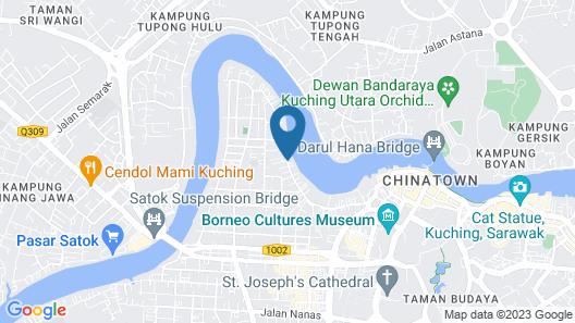 Dormani Hotel Kuching Map