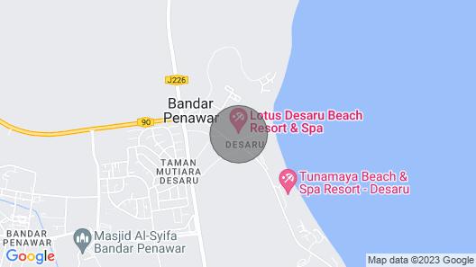 D'Vista 2BR Luxury Apartment @ Lotus Desaru Beach Resort Map