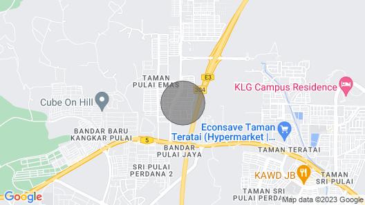 Homestay near utm @ skudai @Pulai jaya @kangkar pulai Map