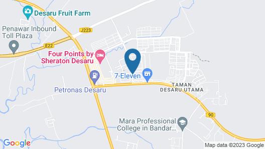 Arcadia Resort Desaru Map
