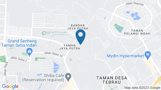 Alheri Austin Johor Map