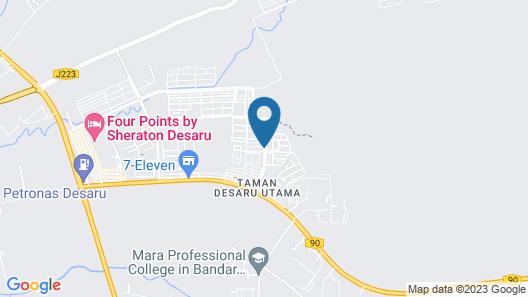 Cosy Bungalow at Desaru Map
