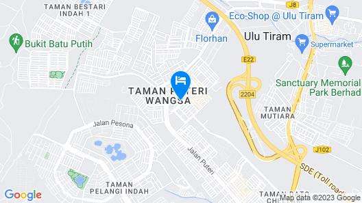 Hotel101 Map