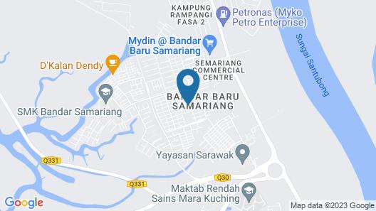 Sakura Bandar Semariang Guest House Map
