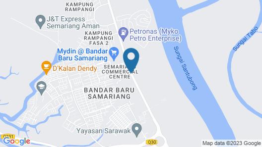 Santubong Suite Just Like Home Map