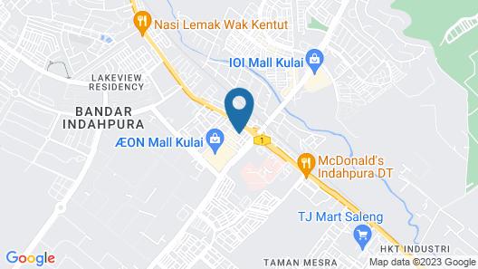 RJ Hotel Kulai Map