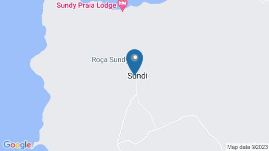 Hotel Roça Sundy Map