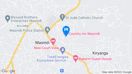 Country Inn Masindi Map