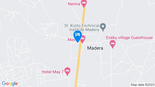 Akello Hotel Map