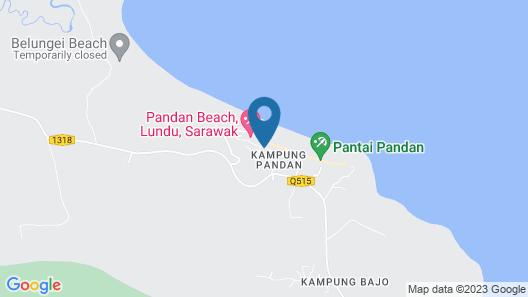 Pandan Goldcoast Holiday Villa Map
