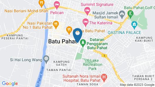 The Landmark Hotel Map