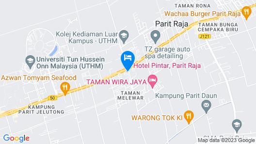 Hotel Pintar Map