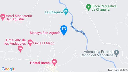 Masaya San Agustin Map