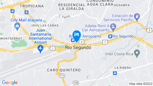 Hotel Mango Map