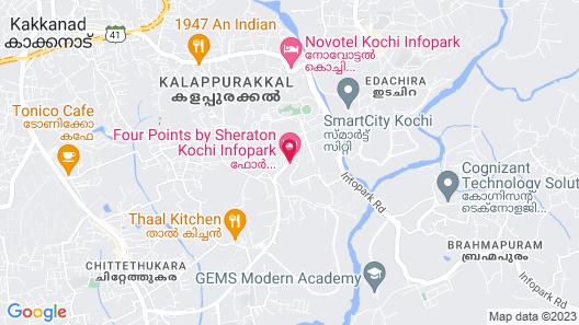 Four Points by Sheraton Kochi Infopark Map