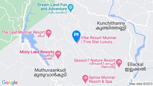 The Fog Munnar Resorts & Spa Map